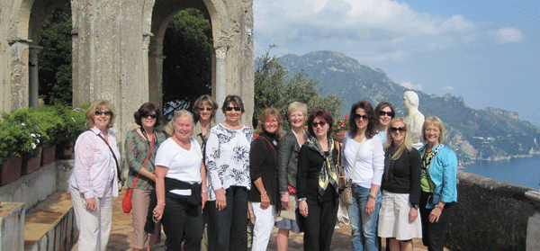 AMALFI COAST TOUR GROUP 2010